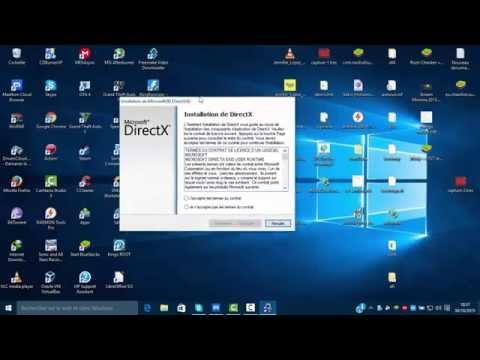 tuto comment télécharger et installer directx11 en fr