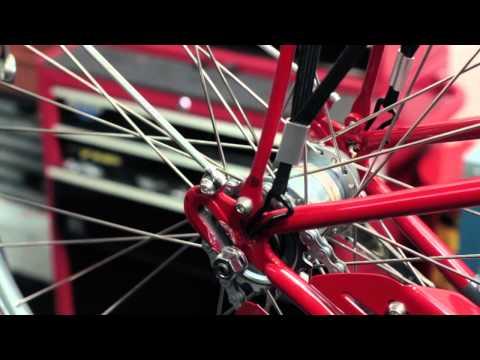 How to remove a hub gear rear wheel
