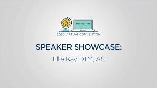Toastmasters 2020 Convention Speaker Showcase: Ellie Kay