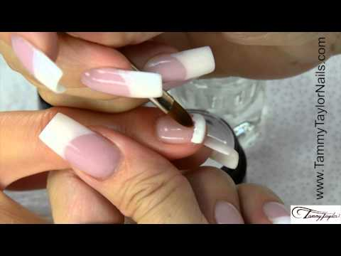 ♡ Tammy Taylor 12 Step Gel French Manicure and Fill