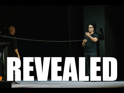 David Blaine - Bullet Catch (Beyond Magic) - Magic Tricks REVEALED
