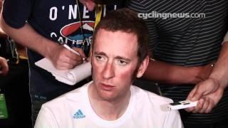 Bradely Wiggins before the start of Tour de France 2012