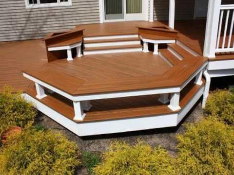 bench seat with backrest design for garden