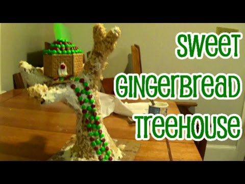 Gingerbread TREE-House?
