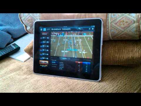 IPad directv football