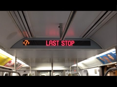 On-Board a Flushing-Main St bound R188 (7X) EXP Train from 34th St-Hudson Yards to Flushing-Main St