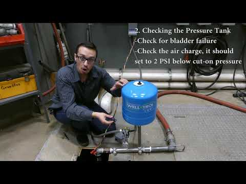 Troubleshoot: Water Well Pump Starts too Often (Rapid Cycling)