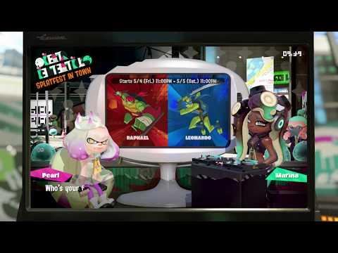 Splatoon 2 ~ Splatfest Announcement ~ Raphael VS Leonardo