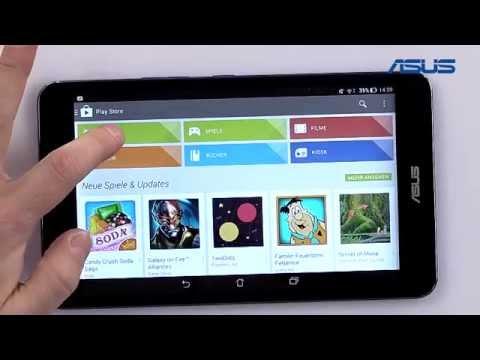 ASUS Tablet Tutorial - 07 Google Playstore / Apps suchen und installieren