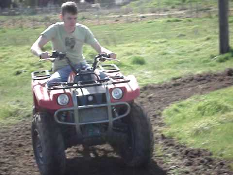 Building a dirt track