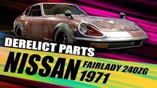Need For Speed Payback All Nissan 240zg Derelict Locations