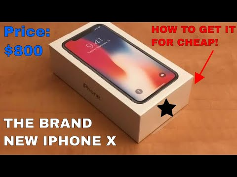 HOW TO GET THE IPHONE X FOR THE CHEAPEST WAY POSSIBLE!!!