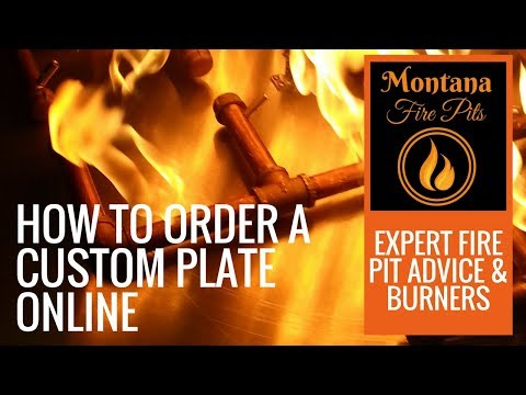 How to Order a Custom Plate Online