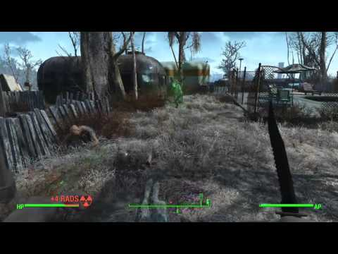 Fallout 4 ghoul fight