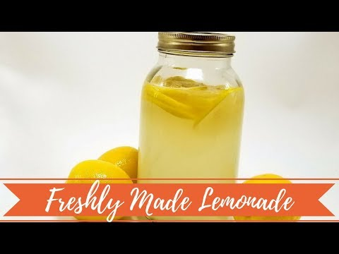 How to make lemonade? Lemonade Recipe