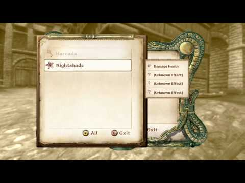 TES Oblivion : how to make potions,