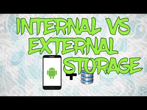 External and Internal storage in Android part 1