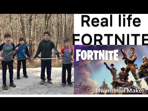 Real Life FORTNITE!