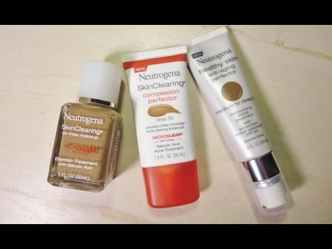 Neutrogena Healthy Skin Anti-Aging Perfector Review (Olive/Brown/Indian Skin Tone)