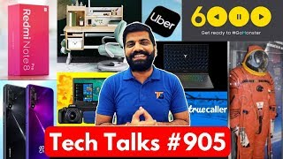 Tech Talks #905 - Redmi Note 8 Price, Realme XT Tomorrow, Lenovo Legion, Redmi K30 5G, ISRO News