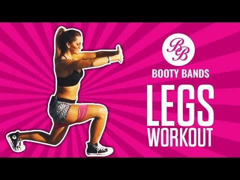 Let's SCULPT Our LEGS without Weights! Workout Anywhere with Booty Bands
