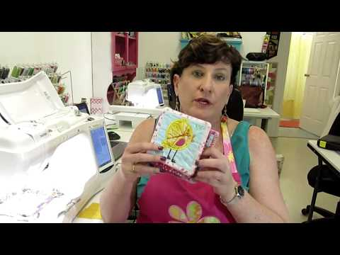 How to Applique-    ' in the hoop'  machine embroidery