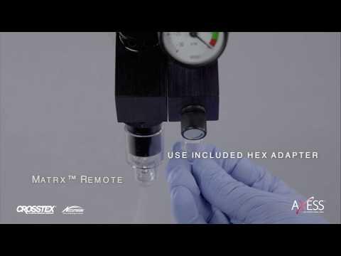 Axess® Installation Snippet – Matrx™ Remote