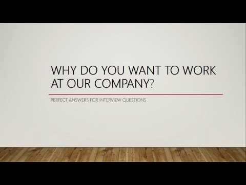 WHY DO YOU WANT TO WORK AT OUR COMPANY? - JOB INTERVIEW QUESTION 4 | CÙNG NHAU HỌC TIẾNG ANH AZ