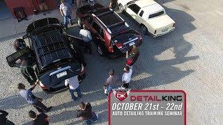 October 21st – 22nd 2017 Technician Auto Detailing Training Seminar