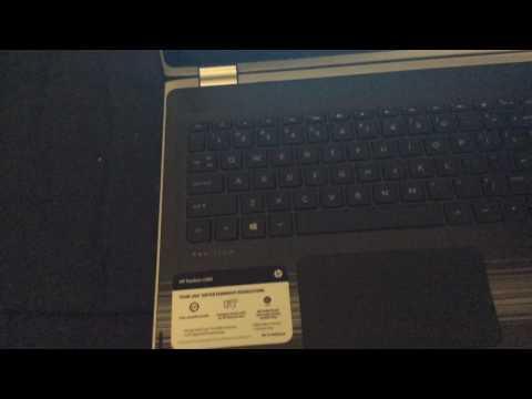 How to turn on backlit keyboard on hp pavilion