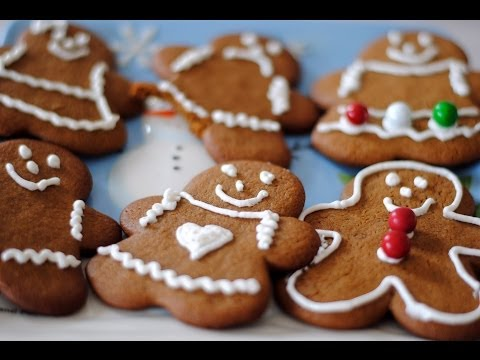 Gingerbread Men & Women Cookie Recipe - How To Make Gingerbread Cookies