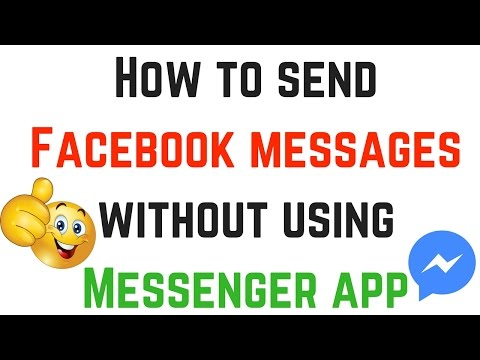 How To Send Messages In Facebook App Without Messenger - Best FB Trick 2016