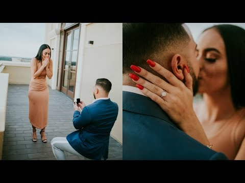 THE BEST ROMANTIC PROPOSAL OF ALL TIMES ( YOU WILL CRY ) | VALE LOREN