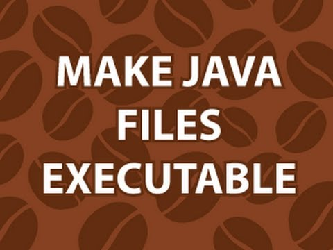 Make Java Executable