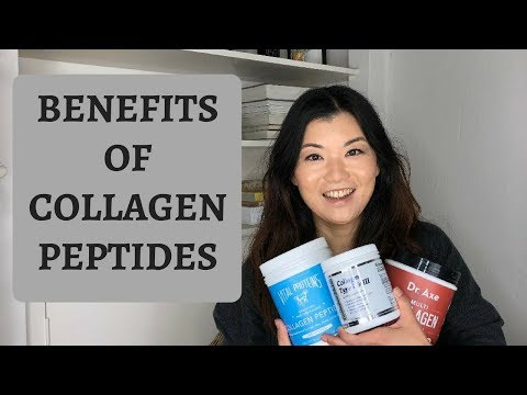 Collagen Peptides for Healthy Hair, Skin, Nails and Digestion