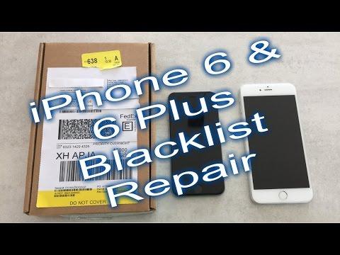 iPhone 6, 6+, 6s and 6s+ Blacklist Swap