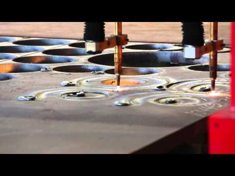 Thick Steel Plate Oxy-Fuel Cutting