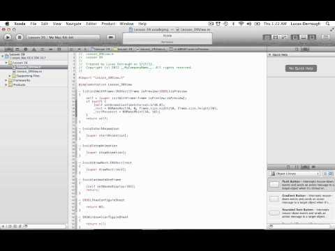 Cocoa Programming L39 - Screen Saver