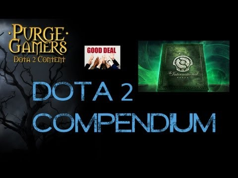 Dota 2 Compendium for Sale! Great Deal!