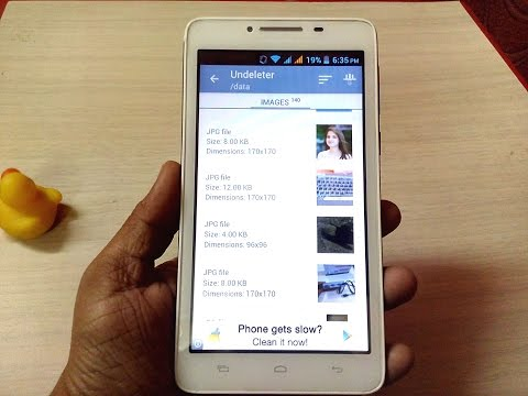 How to Recover Deleted Video, Music, Photo & Data files in Android Phone