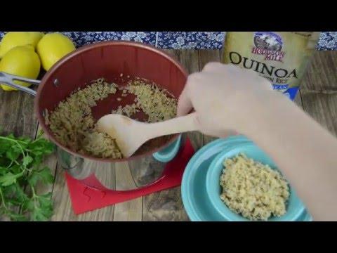 Quinoa & Brown Rice --So Easy!