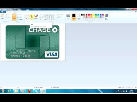 How to edit credit Card