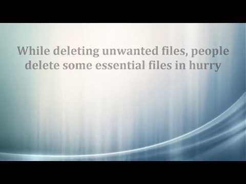 How to Recover Accidentally Deleted PDF Files