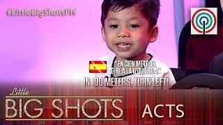 Little Big Shots Philippines: Sean | 3-year-old Street Smart Kid
