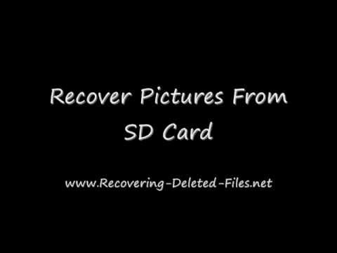 Recover Pictures From SD Card In A FEW Clicks [Working 2018]