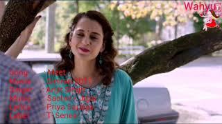 Meet [ English ]. Simran | Arijit Singh | Kangana Ranaut | Sachin - Jigar | T-Series
