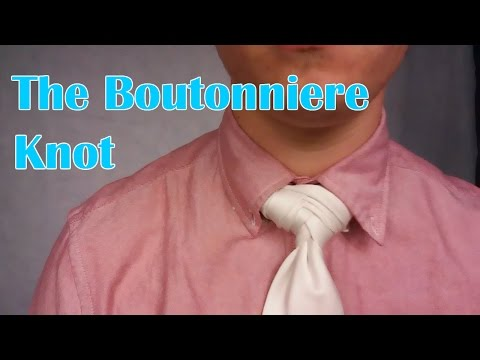 How To Tie: The Boutonniere Knot
