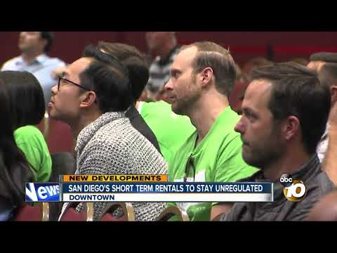 San Diego's short-term rentals remain unregulated