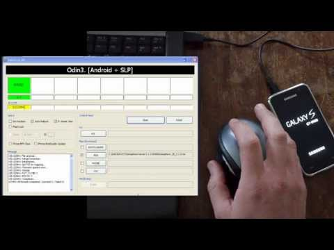 Tutorial * flash a kernel or stock ROM with Odin * SGS1 i9000