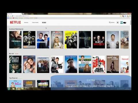 How to get USA Netflix ANYWHERE! (TUTORIAL) [EASY,SIMPLE] (2015) (WORKING)